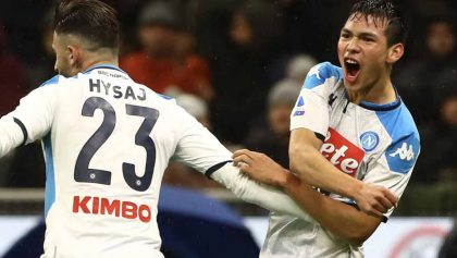 ¡En tu cara, Gattuso! El gol del 'Chucky' Lozano al Hellas Verona tras entrar de cambio
