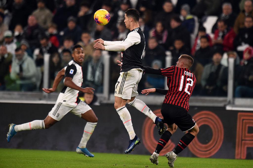 Dybala 'sacó' a Cristiano Ronaldo del campo y marcó el gol del gane para la Juventus