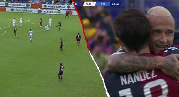 El bombazo de Radja Nainggolan que puso de cabeza la Serie A