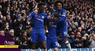 Chelsea se pone a 5 puntos del Liverpool tras vencer al Crystal Palace