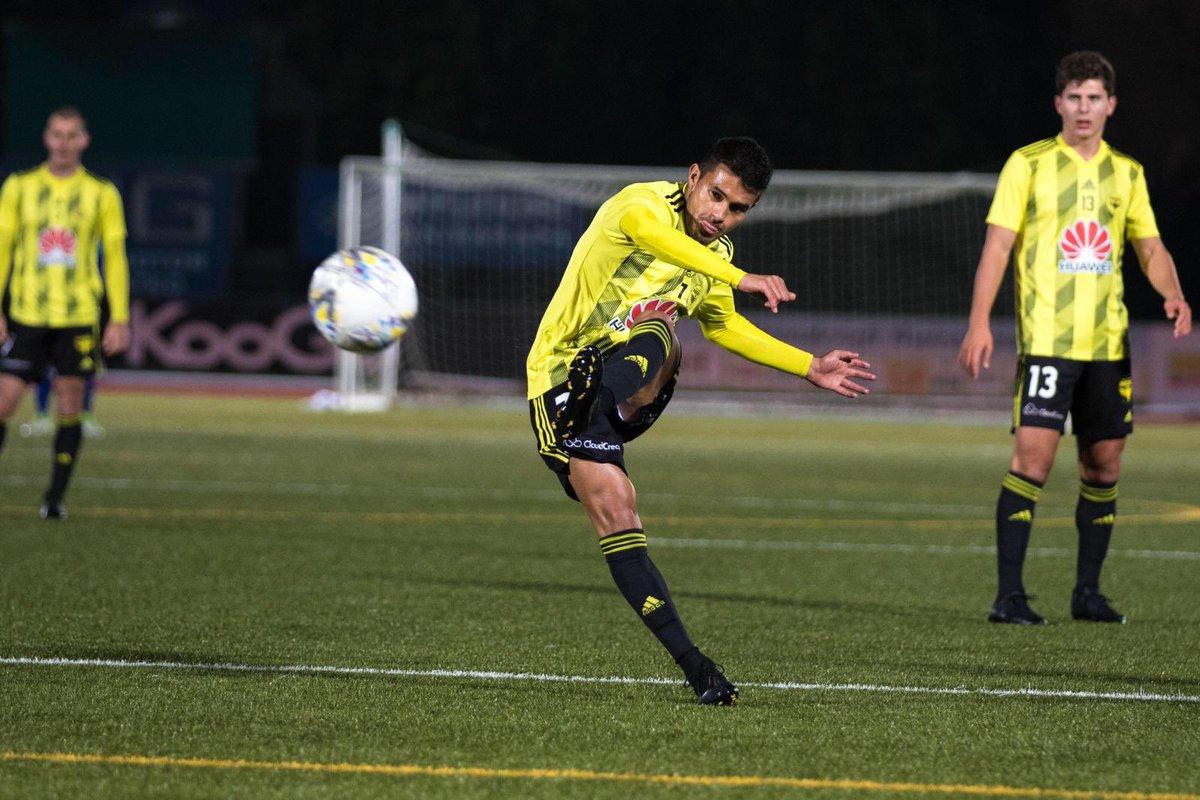 ¡On Fire! Ulises Dávila anotó el gol del empate con el Wellington Phoenix de Australia