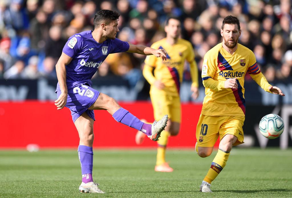 ¡Apenitas! Barcelona logró agónico triunfo ante el Leganés