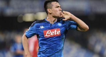¿Que era malo? 'Chucky' Lozano lideró al Napoli en el empate contra Salzburg