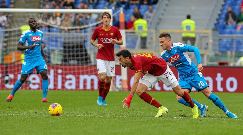 'Chucky' Lozano jugó 32 minutos en la derrota del Napoli ante la Roma