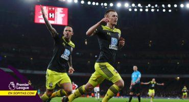 Lacazette rescató el empate para el Arsenal a segundos de terminar el partido