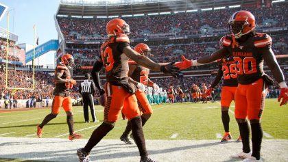 Browns apaleó a unos Dolphins que amenazaban con remontar el partido