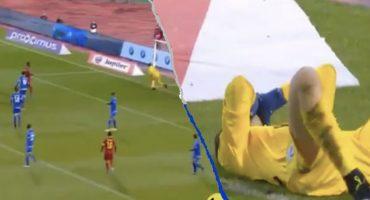 El OSOTE monumental del portero de Chipre que terminó en gol de Bélgica
