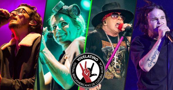 ¡Guns N' Roses, The Cardigans, y The Rasmus en el Vive Latino 2020!