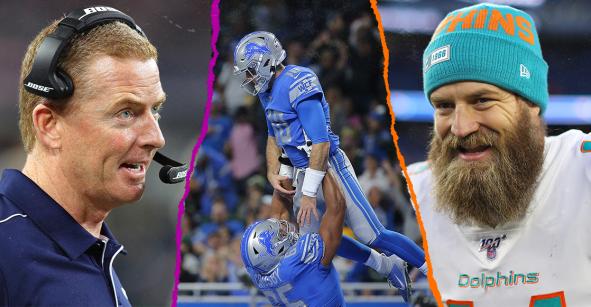 Los playoffs, magia en Detroit y el milagro de Miami 2.0: 7 puntos para resumir la Semana 17 de la NFL