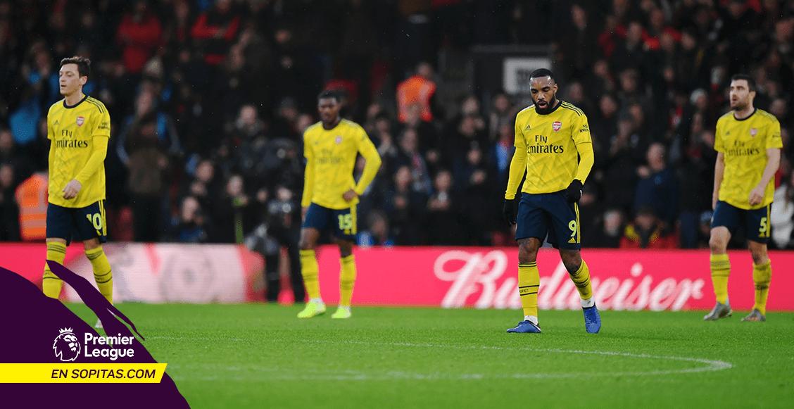 Un punto: Arsenal empató con el Bournemouth en el debut de Mikel Arteta