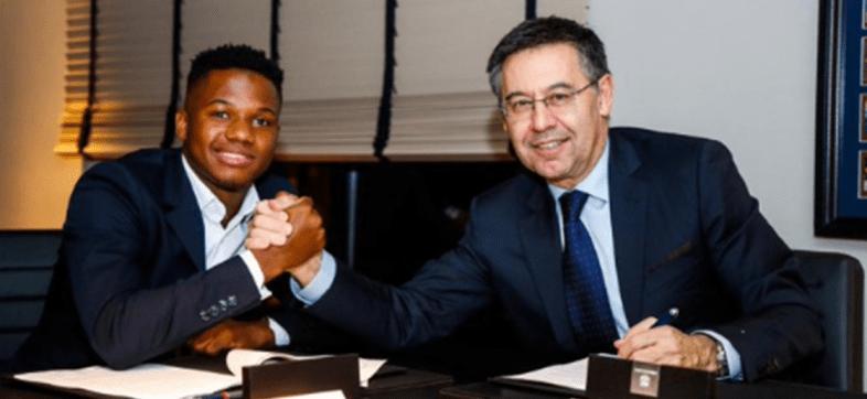 Oficial: Barcelona blindó a Ansu Fati con cláusula de 170 millones de euros
