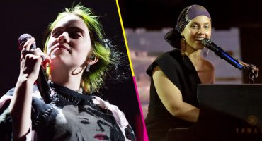 Billie Eilish y Alicia Keys se avientan un dueto de