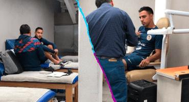 Captan a los primeros refuerzos del América realizando exámenes médicos