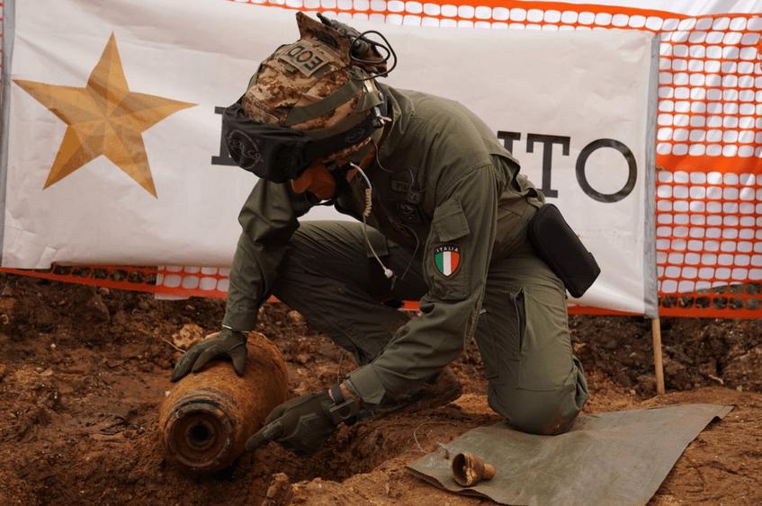 54 mil personas fueron evacuadas en Italia por culpa de una bomba ¡de la Segunda Guerra Mundial!