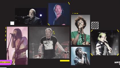 Esta es la agenda de conciertos en México para la primera parte de 2020
