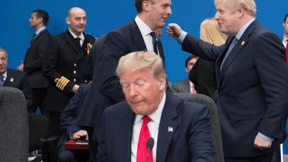 ¡Justo en el cora! Trump cancela conferencia tras burla de líderes mundiales 💔