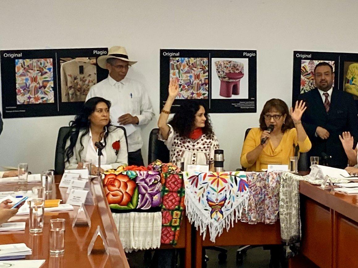 Ley contra plagio de la Cultura Indígena ya fue aprobada por comisiones en el Senado