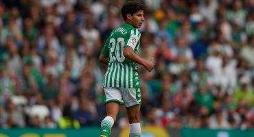 ¡GOLAZO! Ve el segundo gol de Diego Lainez con el Betis