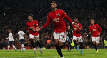 Bad luck: Mourinho y su Tottenham perdieron el invicto ante el Manchester United