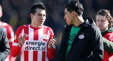 Lógico: Erick Gutiérrez dijo que extraña al 'Chucky' Lozano en el PSV