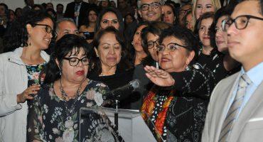 Asume Ernestina Godoy como fiscal general de la CDMX; descarta negociar con cárteles