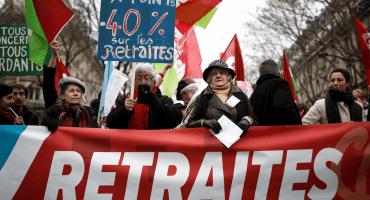 Trabajadores sacuden Francia con protestas en contra de la reforma al sistema de pensiones
