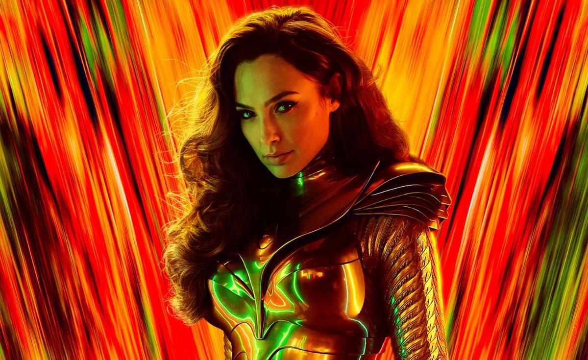 Gal Gadot en el poster de Wonder Woman 1984