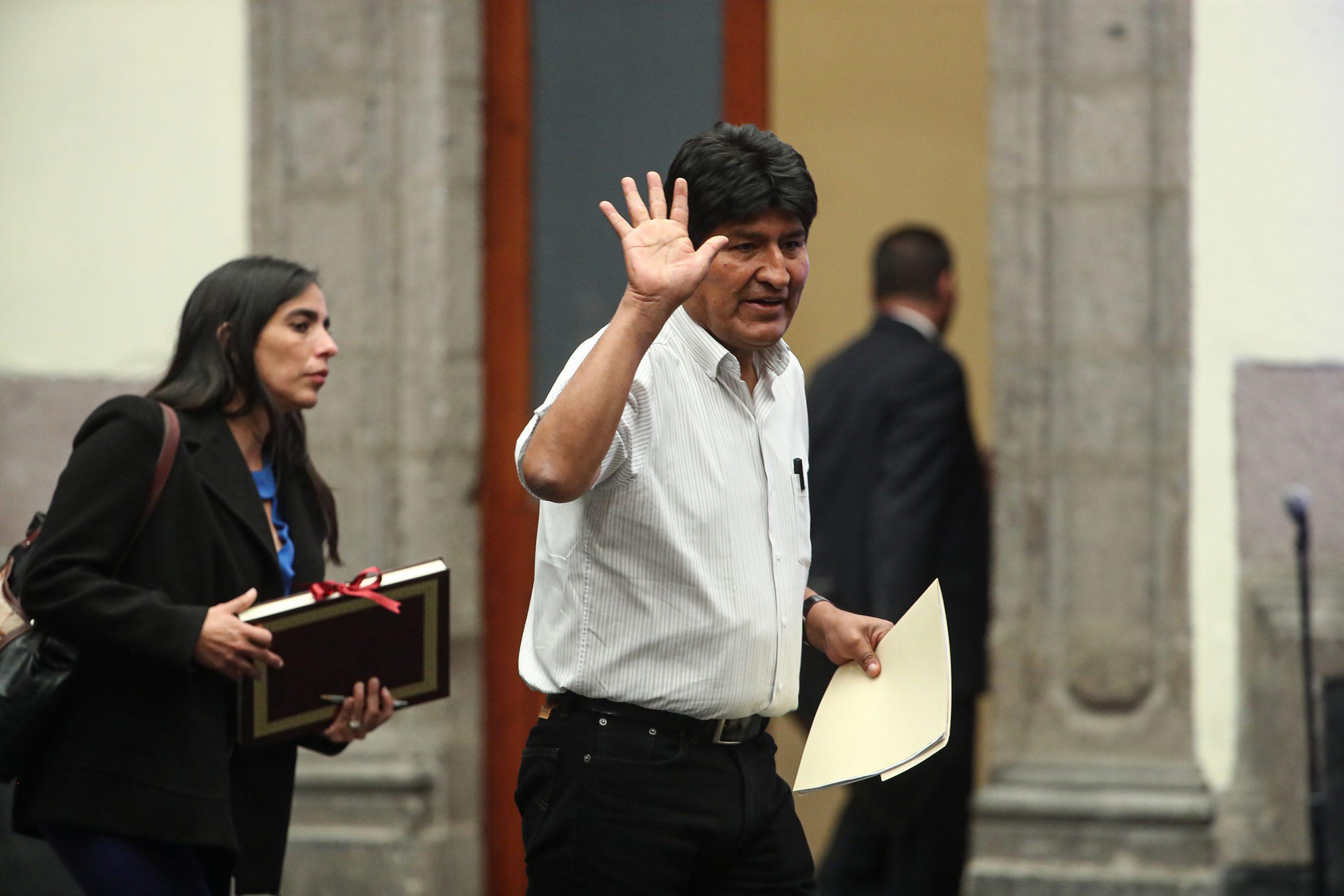 Orden de aprehensión contra Evo Morales