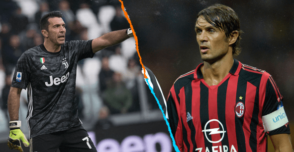 ¡Histórico! Gianluigi Buffon empató a Maldini con más partidos en la Serie A