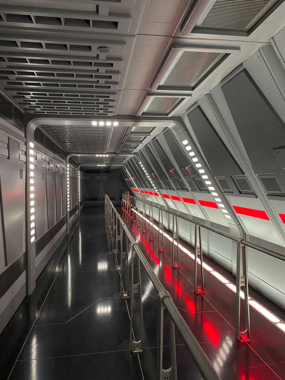 Los pasillos son una aeronave en