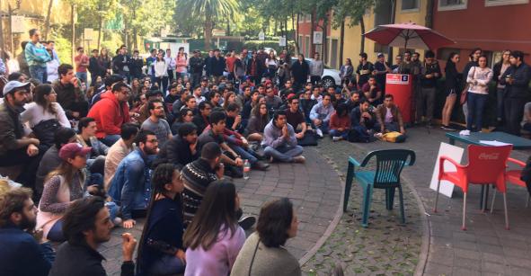 Estudiantes del ITAM se van a paro activo; exigen a autoridades atender demandas