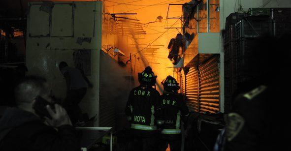 Todos los incendios en mercados fueron por cortos circuitos: FGJ-CDMX