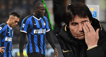 Inter se estrelló con la Roma y puso en riesgo el liderato de la Serie A