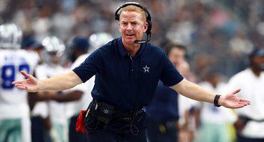 Jason Garrett head coach de los Vaqueros de Dallas