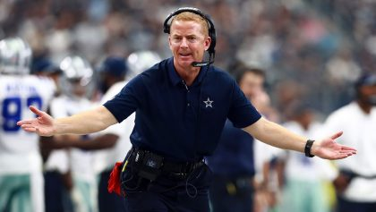 Jason Garrett head coach de los Vaqueros de Dallas