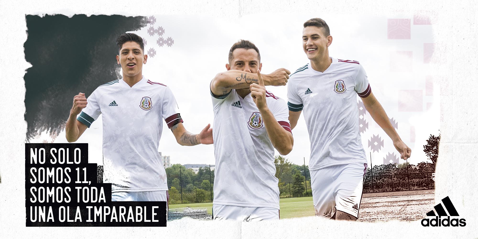 ¡Es bellísima! Este es el nuevo jersey de la Selección Mexicana