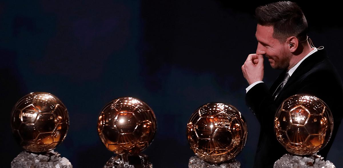 Por siete puntos: Así quedaron las votaciones para el Balón de Oro 2019