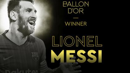 No hay debate: Lionel Messi se llevó el Balón de Oro 2019