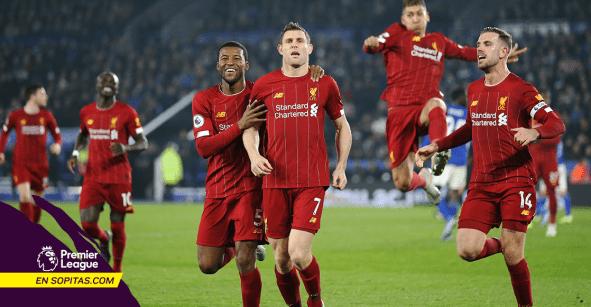 ¡IMPARABLES! Liverpool goleó al Leicester y se pone a 13 de distancia