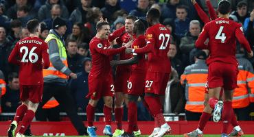 IMPARABLES: Liverpool se llevó el derbi de Merseyside en Anfield