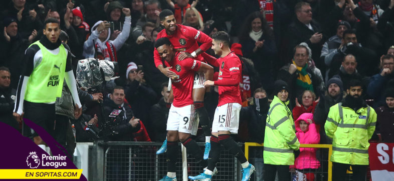 Like the old times: Manchester United goleó al Newcastle en el Boxing Day