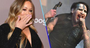Cuando amas el metal y la navidad: Mash-up de Marilyn Manson y Mariah Carey se hace viral