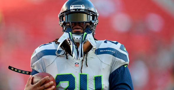He is back: Marshawn Lynch está de vuelta con los Seahawks
