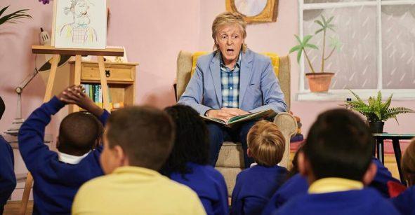 'High in the Clouds', el libro para niños de Paul McCartney, se va como animación para Netflix