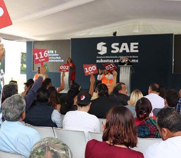 Va hoy otro intento del SAE para vender casas del