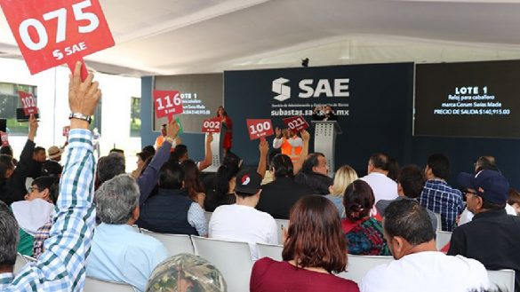 Subasta realizada en Los Pinos el pasado 10 de noviembre