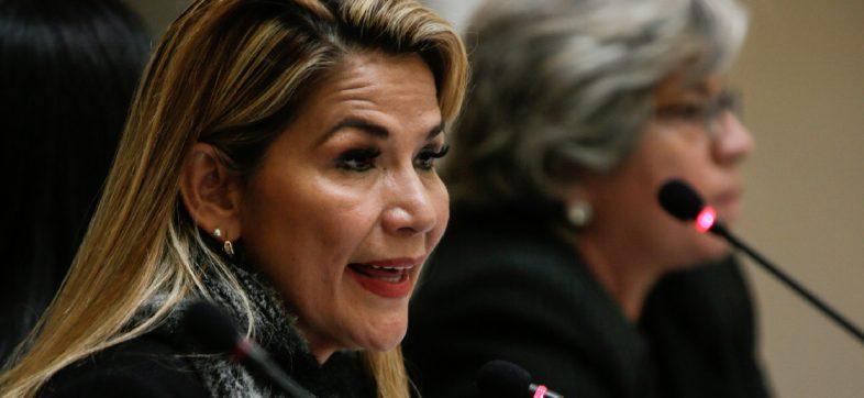 Dice Jeanine áñez que en próximos días podría emitirse orden de aprehensión contra Evo Morales