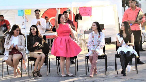 Adriana Iturriaga Mauricio, primera reina de la Feria de Zacatecas con Síndrome de Down