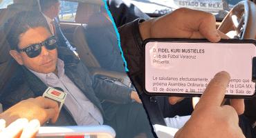 Niegan acceso a Fidel Kuri a la Asamblea de Dueños, pese a tener invitación