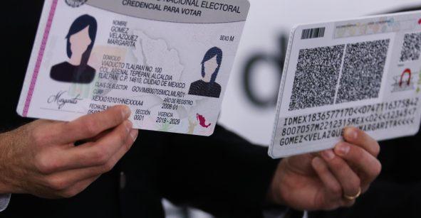 INE presume que nueva credencial será infalsificable y contará con código QR